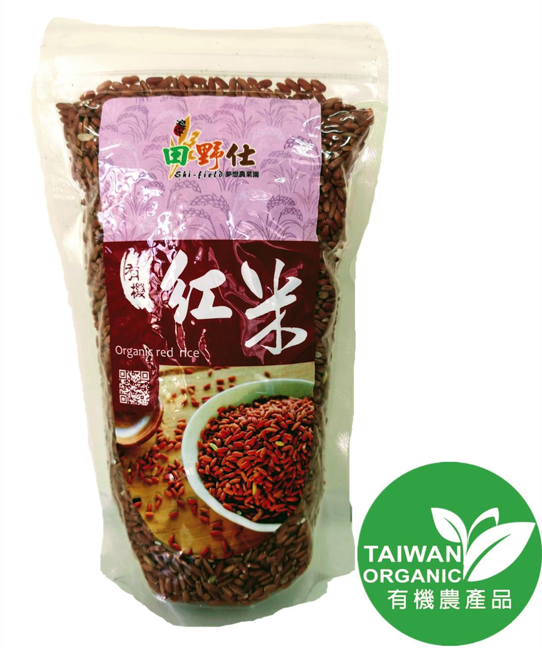【田野仕】有機紅糙米