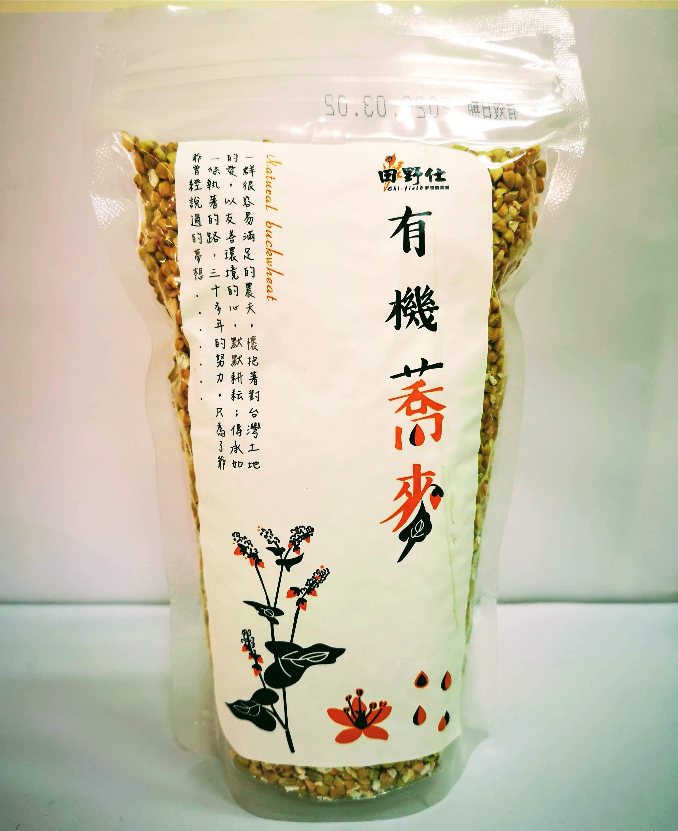 【田野仕】有機蕎麥360g