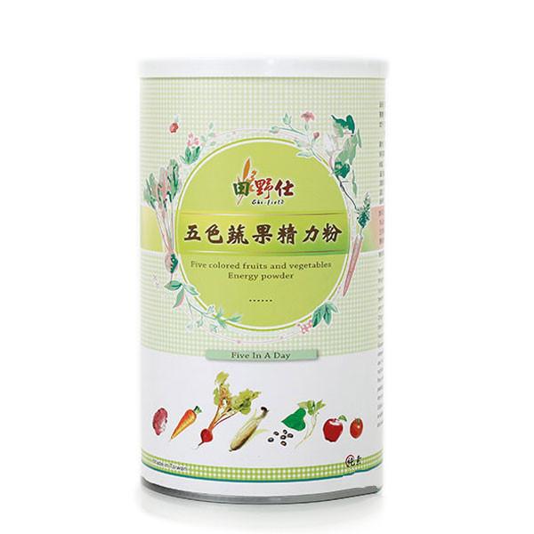 【田野仕】五色蔬果精力粉